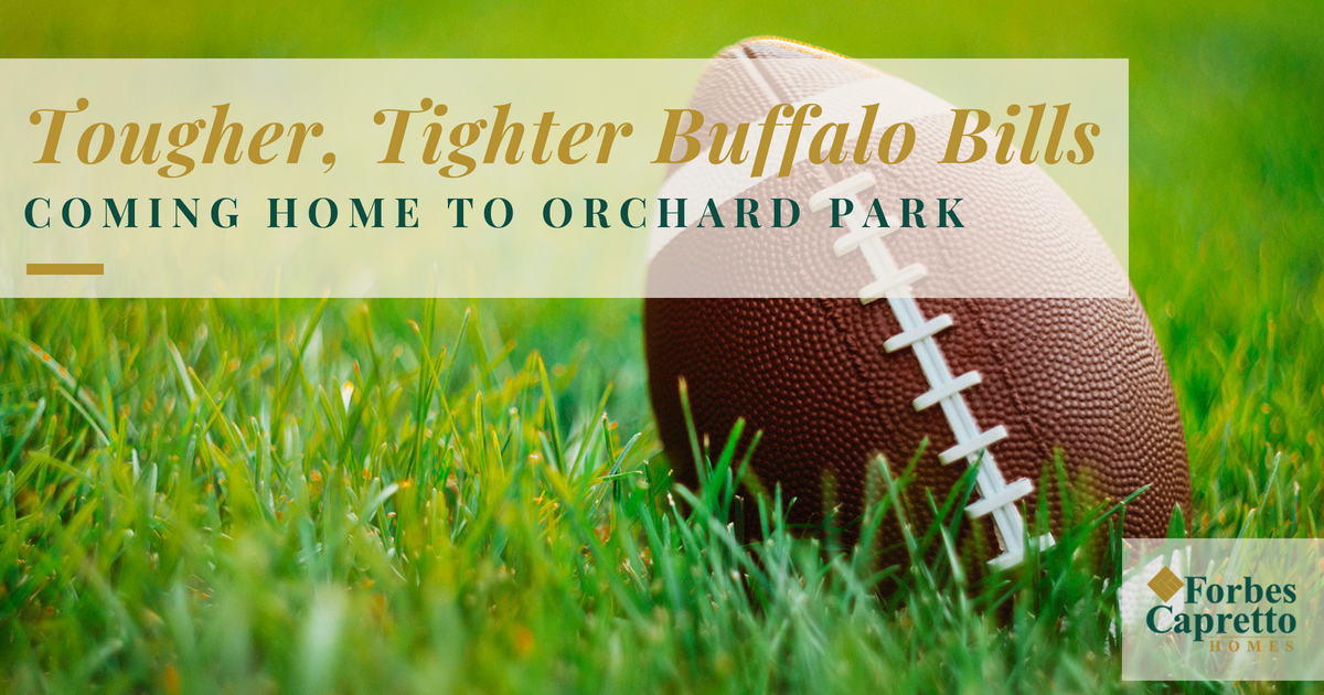 Tougher, Tighter Buffalo Bills Coming Home to Orchard Park