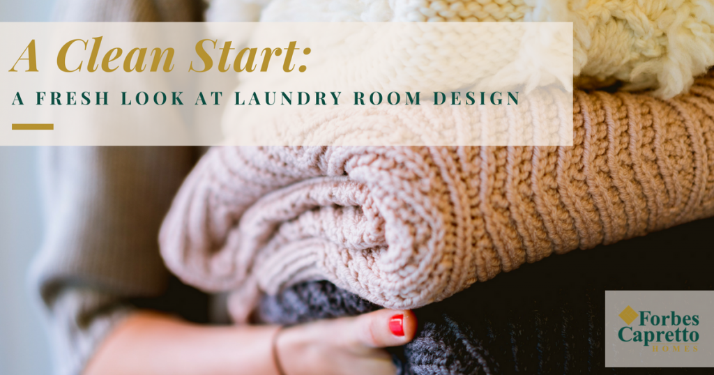 A Clean Start: A Fresh Look at Laundry Room Design